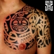 polynesian crossover tattoos